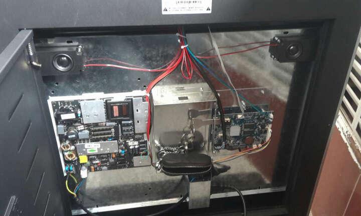 金为 液晶广告机42/43英寸高清LED立式广告机触摸屏显示器 查询触控显示屏广告播放器 升级触控I3版 晒单图