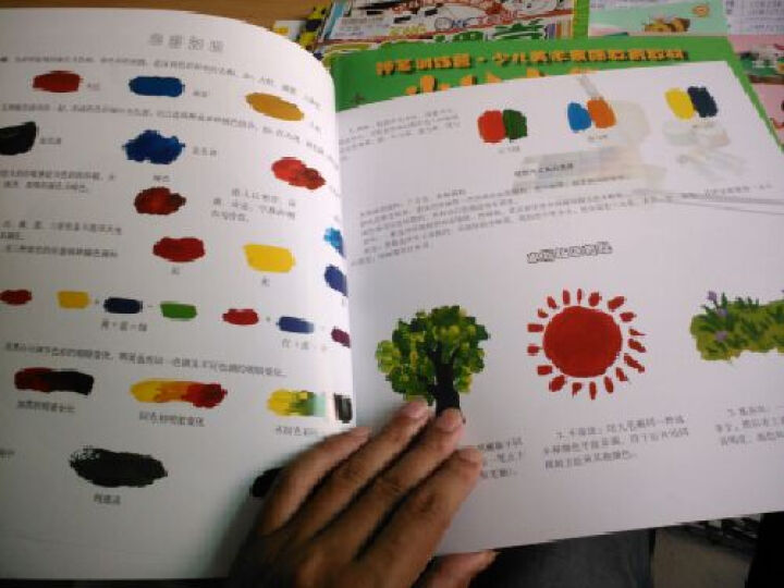 神笔训练营:少儿水粉画(大班) 晒单图