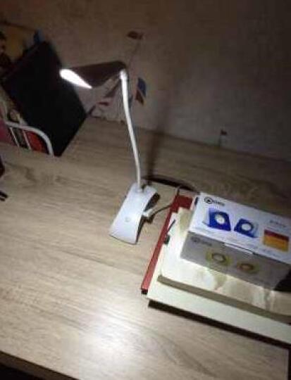 阔景 儿童床头灯夹子台灯 可充电调光LED护眼台灯学习灯学生宿舍阅读灯充电台夹灯限时促销 便携式台灯不可夹 颜色 晒单图