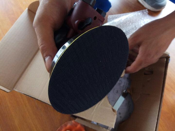 路贝斯工业级5寸125MM气动砂纸机 打蜡抛光机打磨机干磨机抛腻子 RBS-6599A 晒单图