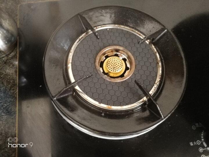 唯开(vvk) 嵌入式燃气灶单灶天然气液化气灶 单炉灶台嵌两用煤气炉双灶红外线猛火灶具 k126豪华金边红外线双灶 液化气 晒单图