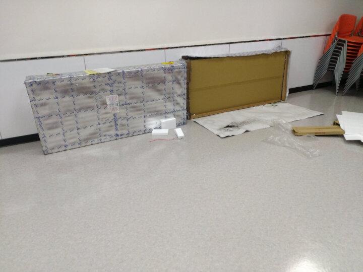 山业 SANWA 白板双面可书写屏风带磁铁 办公室屏风 隔断玄关 客厅屏风 半透明材质 0816WB 晒单图