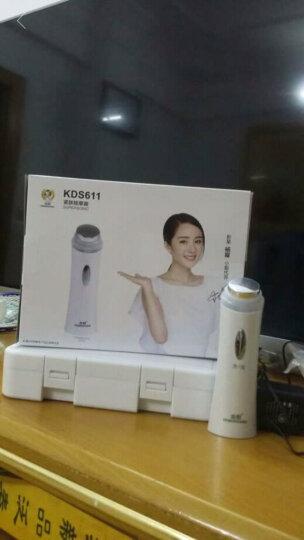 金稻(KingDom) 超声波导入导出仪 脸部按摩器美容仪器家用 V脸神器 KD-9930 晒单图