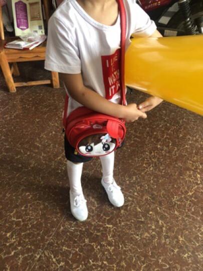 EFILIYO 女童包包公主时尚斜挎包单肩包宝宝背包儿童挎包可爱卡通儿童包包 猫咪款 粉色 晒单图
