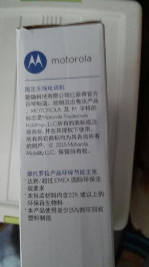 摩托罗拉(Motorola)FW200L无线插卡座机电话机支持移动手机卡SIM卡大音量家用办公无绳插卡移动固话 晒单图