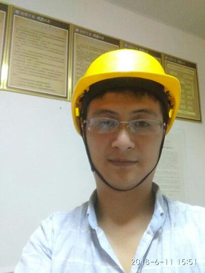 代尔塔/DELTAPLUS 102011 劳保安全帽 建筑工地防砸工厂施工男女防撞头盔 橙色  1个 企业专享 晒单图