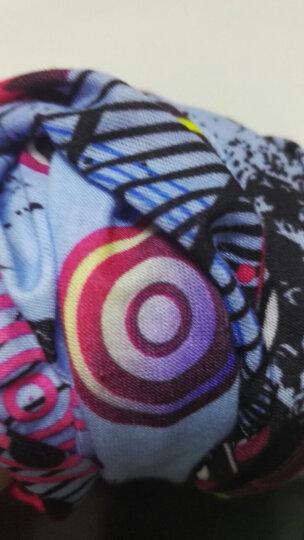 运动头巾无缝魔术百变头巾户外骑行围脖套围巾装备防晒面巾面罩男 火红祥云 晒单图