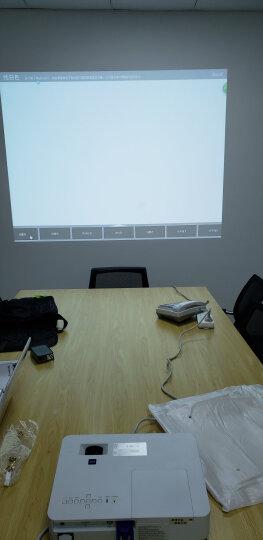 索尼(SONY)投影仪 办公教学高清商务家用工程高亮便携 投影机 VPL-CW279(WXGA分辨率5100流明) 官配+100英寸电动幕布 晒单图