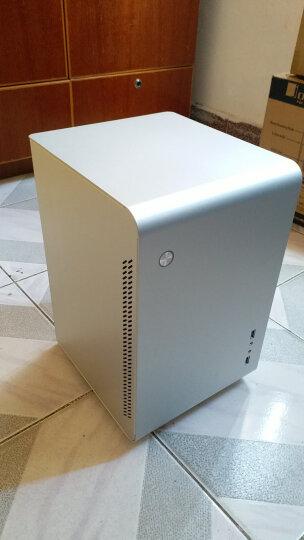乔思伯(JONSBO)U2 银色 MINI-ITX机箱(支持ITX主板/全铝机箱/ATX电源/175MM高内散热器/220MM长内显卡) 晒单图