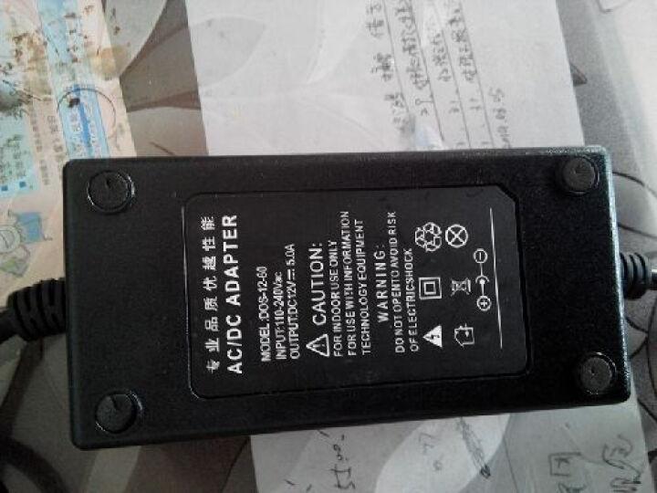 意兴220v转12v车载电源转换器导航仪冰箱吸尘器洗车器转家用变压器逆变器充电点烟器接口头 5A 60W 晒单图