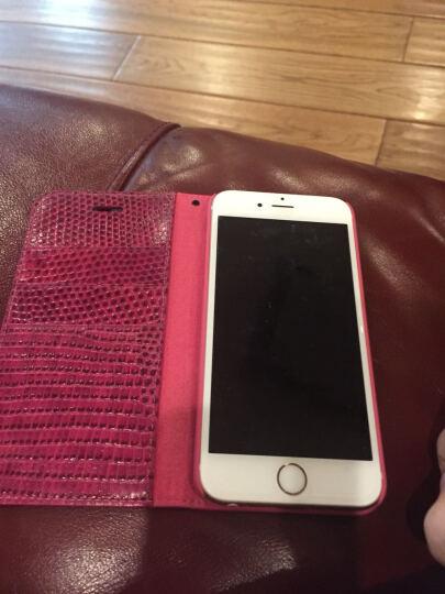洽利(QIALI)手机保护壳套 适用于苹果iPhone6/6s4.7 /plus 5.5 鳄鱼玫红色-4.7英寸 晒单图