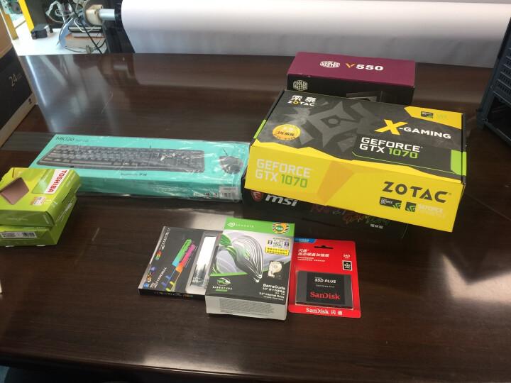 索泰(ZOTAC)GeForce GTX1070 X-GAMING OC吃鸡显卡/游戏电竞台式机独立显卡 8GD5/1582-1771/8008MHz 晒单图