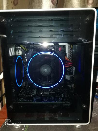 乔思伯(JONSBO)U1-PLUS ITX机箱 银色 (支持ITX主板/全铝箱体/钢化玻璃侧板/SFX电源/195MM长内MINI显卡) 晒单图