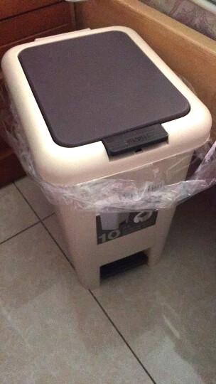 艺姿多功能懒人桌面垃圾桶收纳桶零食储物盘带手机支架YZ-GB102 晒单图