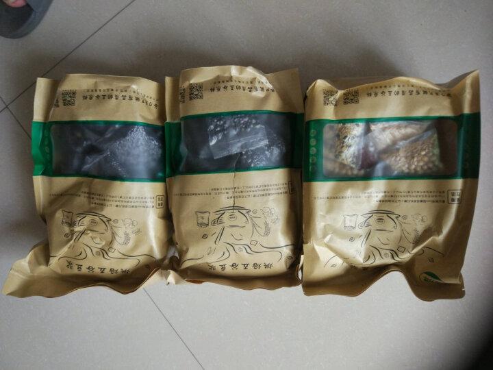 【纯三黑味】五谷豆浆原料包 谷力源 低温烘焙熟黑芝麻黑米黑豆五谷杂粮组合 纯三黑味 晒单图