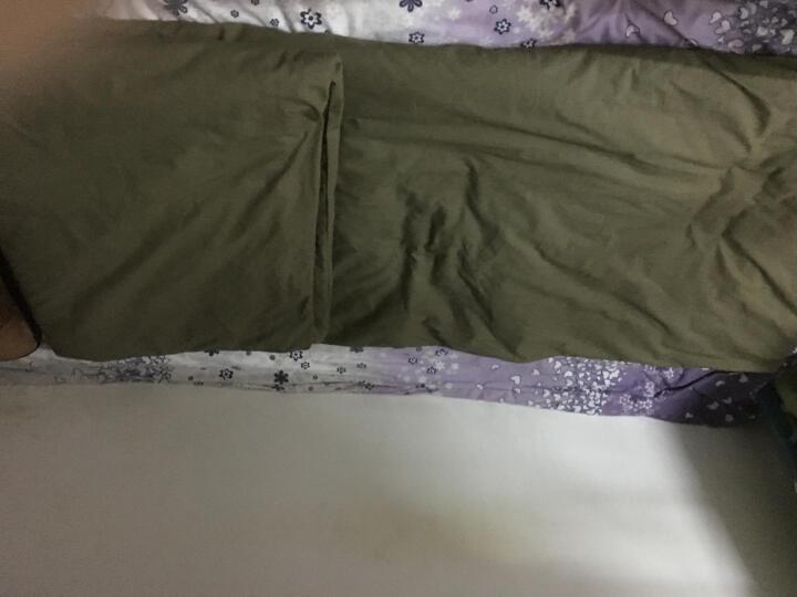 华宇营地 热熔被 标准单人被1.5m*2.1m 军绿色配 棉被 野营用品 军迷用 军训被褥 被子棉被 9709陆空棉被 晒单图