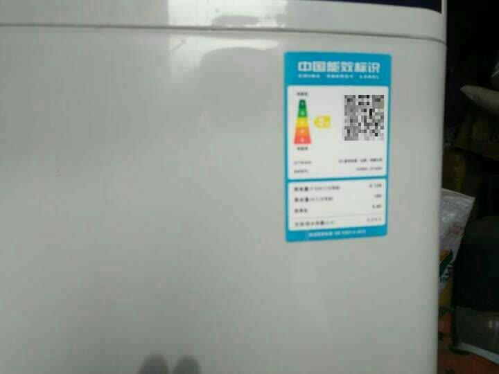 TCL 9公斤 全自动波轮洗衣机 泡雾洁净洗 一键脱水 四重智控 双重桶洁净  (紫罗兰) XQB90-1578NS 晒单图