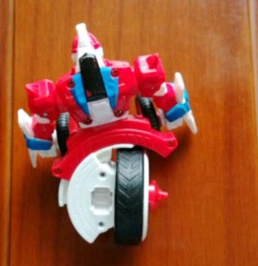 灵动创想 魔幻陀螺3代机甲战车儿童玩具焰天火龙王梦幻二代拉线男孩全套装 旋力机甲-赤影 晒单图