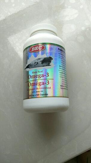 BEC加拿大原装进口海豹油软胶囊 100粒 晒单图