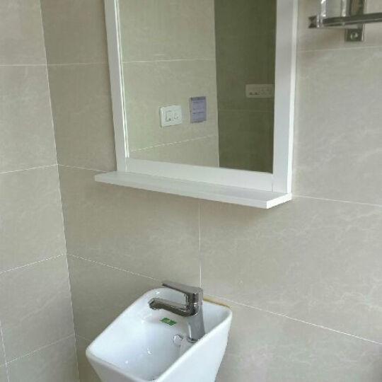 尚象卫浴(ELEFANTE) 立柱盆 小卫生间洗手盆 小型洗面盆 连体洗手盆 阳台洗脸盆 小盆(无配件) 晒单图