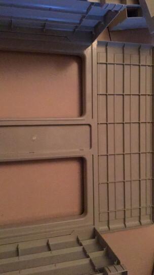 万宝格收纳柜抽屉式整理柜储物柜衣物收纳柜宝宝衣柜儿童柜成人通用五斗柜鞋柜 紫荆花款 5层 晒单图