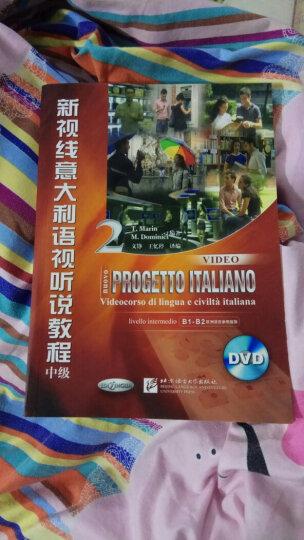 新视线意大利语视听说教程2(中级 附光盘) 晒单图