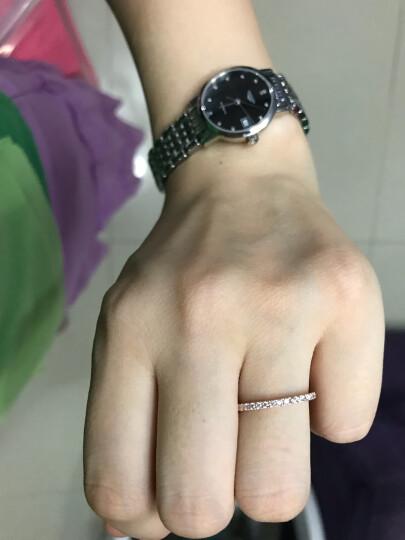 周大福 小心意系列 优雅闪耀 18K金镶钻石戒指/钻戒 U131379 14号 3800元 晒单图