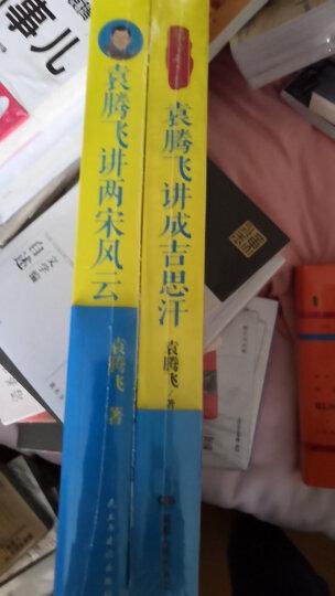 袁腾飞讲历史系列:袁腾飞讲两宋风云+袁腾飞讲成吉思汗(套装共2册) 晒单图