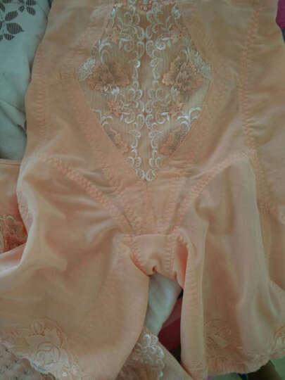 婷美塑身衣产后恢复收腹束腰提臀美体塑身分体套装LM5201LC5201 蝴蝶粉 75+70 晒单图