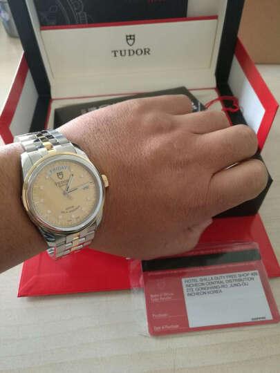 帝舵(TUDOR)手表 骏珏系列机械男表56003-68063香槟盘提花10钻 晒单图