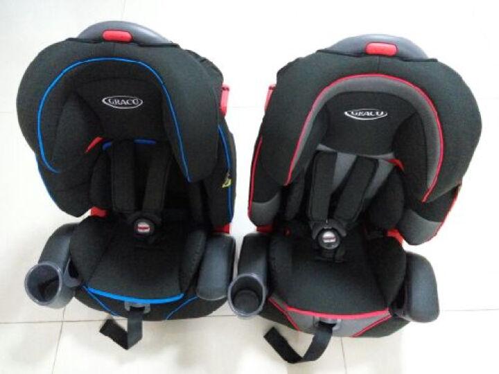 葛莱 GRACO鹦鹉螺儿童汽车安全座椅9月-12岁8J96 新8J96蓝色 晒单图