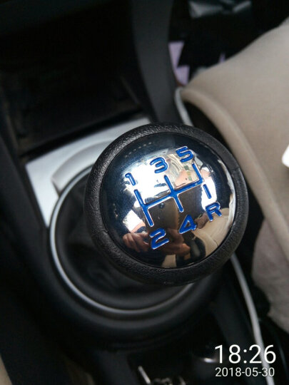 hacan汽车排挡头专用标致301 408 雪铁龙爱丽舍世嘉手动档档把头档位杆 手动挡档把头 篮子款 晒单图