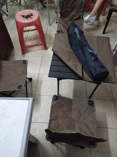 龙爪(DRAGON CLAW) 户外折叠沙滩靠背椅 钓鱼椅 自驾游 公园 家用便携凳子 椅子 340 咖啡 晒单图