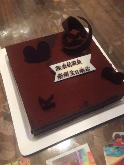 诺心 LECAKE 巧克力松露··轻享蛋糕 5-8人食 晒单图