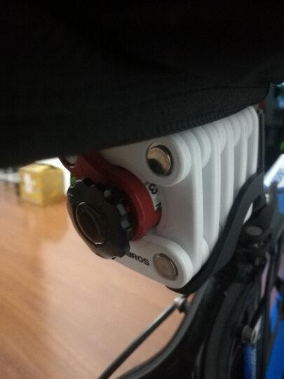 洛克兄弟(ROCKBROS) 自行车锁防盗山地车锁折叠锁关节抗剪电动车摩托车锁 骑行装备 密码魔方锁-白色加长型(20节折叠 加粗锁芯) 晒单图