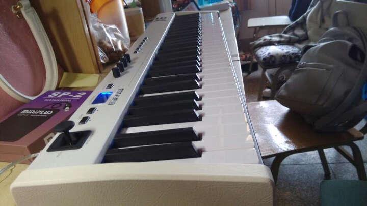 【笛美】MIDIPLUS 半配重MIDI键盘控制器 编曲键盘 X6 61键 走带功能 晒单图