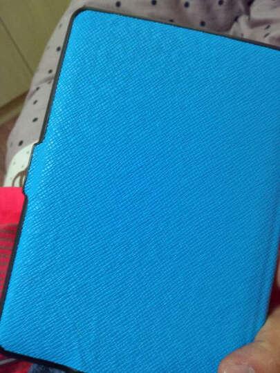 优肯思 亚马逊Kindle Paperwhite 6英寸保护套1/2/3代电子书阅读器皮套 深蓝-十字纹 晒单图