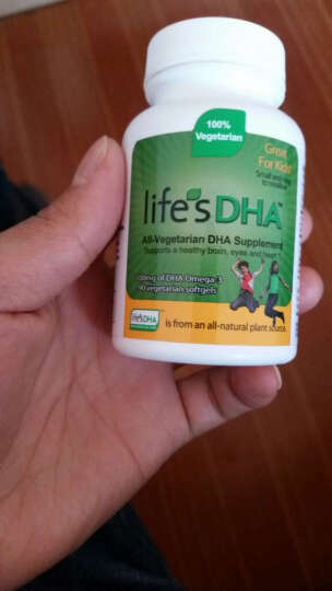 马泰克(Life'sDHA) 美国 Martek  婴幼儿童宝宝 孕妇产后哺乳期 海藻油 孕妇款60粒/瓶*3 晒单图