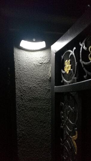 帝舜(DiSHUN)太阳能灯户外路灯庭院别墅小区公园照明智能模式感应家用室外防水灯 光控笑脸灯红铜色 晒单图
