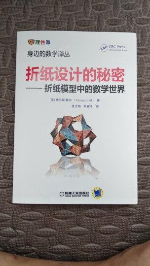 折纸设计的秘密 折纸模型中的数学世界 晒单图