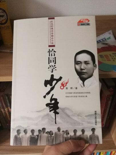 恰同学少年黄晖著 红色经典青春励志小说 毛泽东成长故事 历史故事书 青年毛泽东 晒单图
