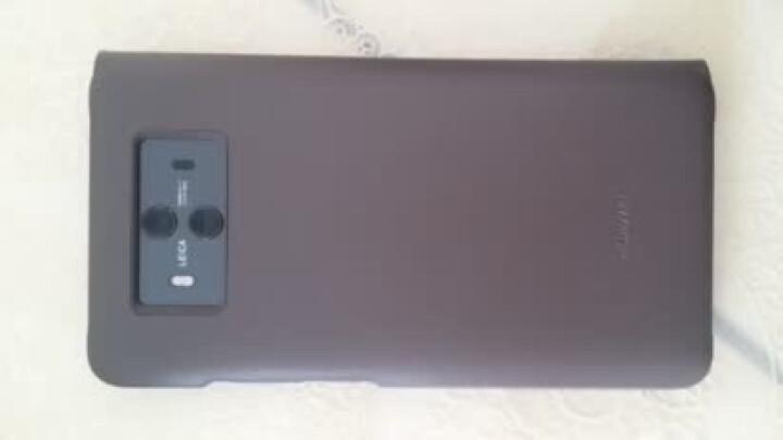 华为 HUAWEI Mate10 手机导航套件 原装皮壳 车载支架 棕色 晒单图