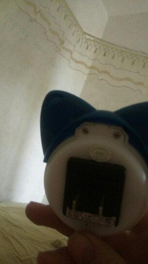 冠雅 LED小夜灯 创意卡通节能喂奶起夜卧室床头灯GY-8020 蓝 晒单图