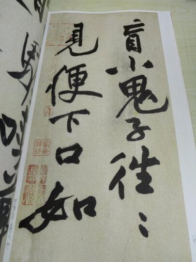中国碑帖名品:黄庭坚诸上座帖 晒单图