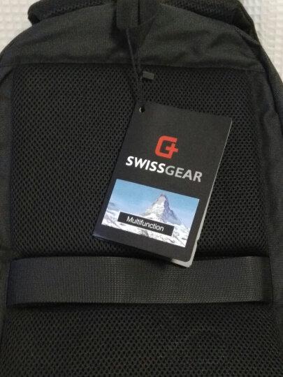 SWISSGEAR加密防盗双肩包 防水商务笔记本电脑包15.6英寸/17.3英寸男女休闲多功能双肩背包书包SA-9393XL黑色 晒单图