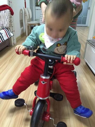 星辉(Rastar) 儿童礼物宝马MINI儿童脚踏车三轮车儿童三轮车宝宝车 新款MINI升级版蓝色 晒单图