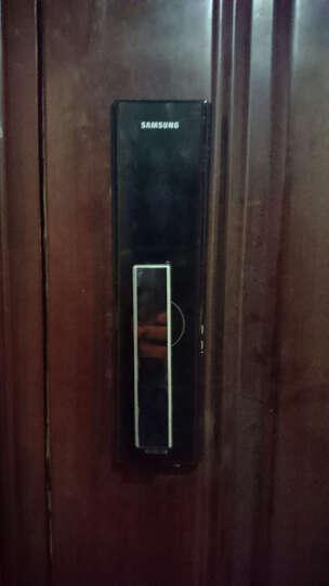 三星Samsung电子锁智能门锁密码锁防盗门锁家用非指纹SHS-H505 晒单图