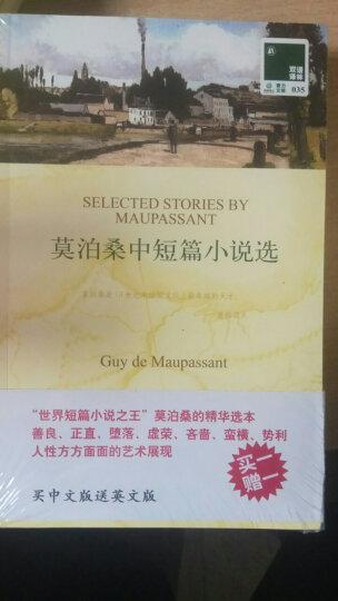 双语译林:莫泊桑中短篇小说选(附英文原版书1本) 晒单图