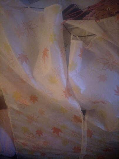 柜品世家 布衣柜 简易组装衣柜  大容量双人衣物收纳柜  折叠布艺衣橱不锈钢管加固 非实木 黄色的士 无纺布 晒单图