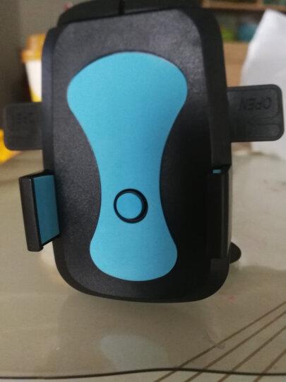 COBAO 车载手机支架汽车用出风口支架360度多功能手机导航支架自动锁卡扣式车上车用支撑架 出风口+吸盘 黑色 晒单图
